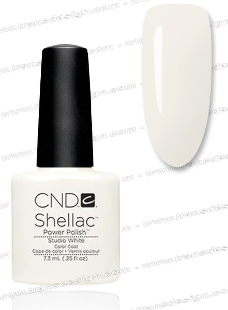 CND SHELLAC - Studio White 0.25oz.