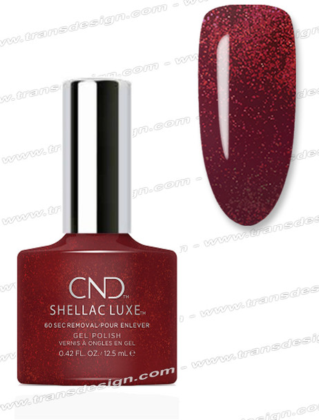 CND Shellac Luxe  - Dark Lava 0.42oz. *