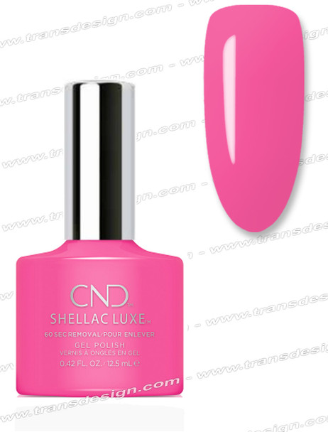 CND Shellac Luxe  - Hot Pop Pink 0.42oz. *