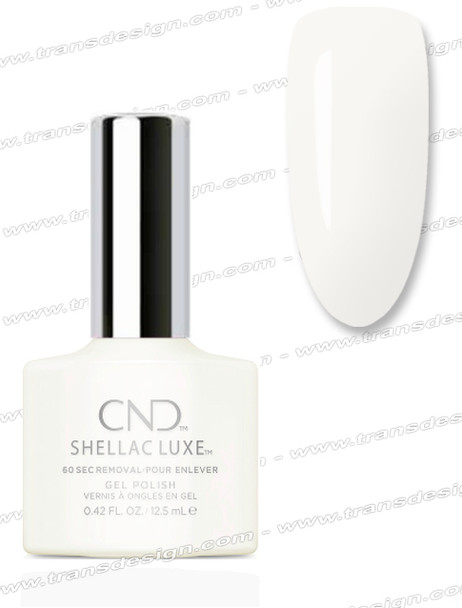 CND Shellac Luxe  - Studio White 0.42oz. *