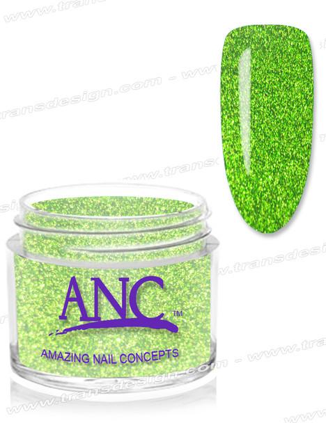ANC Dip Powder - #42 Lime Glitter  2oz.