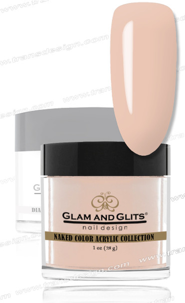 GLAM AND GLITS Naked Color Acrylic - Beyond Pale  1oz.