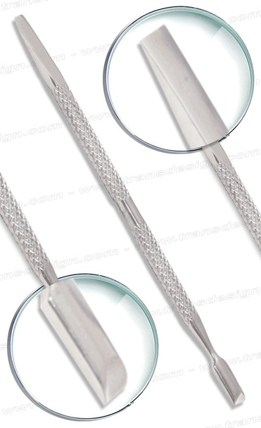 """Stainless Steel Cuticle Pusher Double-Sided 5"""" #CP704"""
