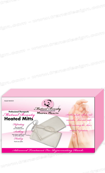 MUTUAL BEAUTY - Heated Mitts White  110V
