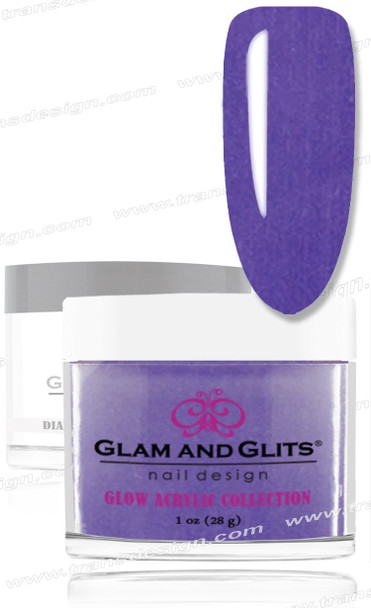GLAM AND GLITS Glow Collection - Ultra Violet 1oz.