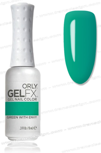 ORLY Gel FX Nail Color - Green With Envy *