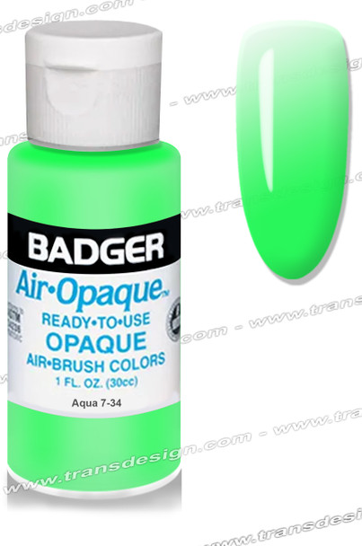 BADGER Airbrush Color - Aqua 1oz.