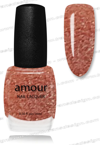 AMOUR Nail Lacquer - A Neutral Copper 0.56oz