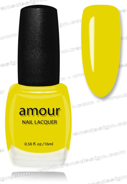 AMOUR Nail Lacquer -  L'oreal Yellow Buzz 0.56oz (C)
