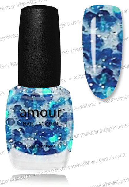 AMOUR Nail Lacquer - Blue Ribbon 0.56oz