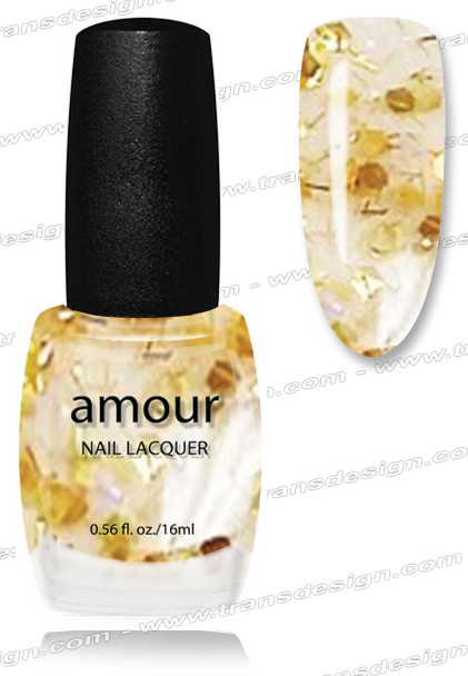 AMOUR Nail Lacquer - Christmas Bows 0.56oz