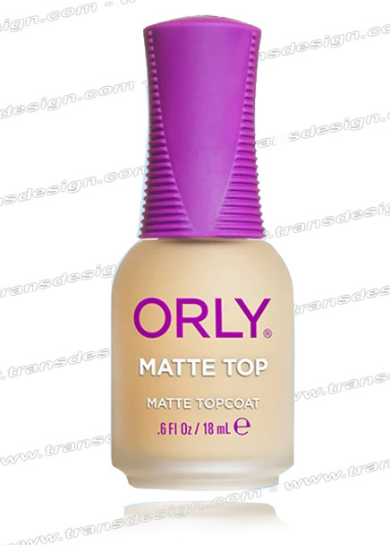ORLY Nail Treatment Matte Top Coat 0.6 Fl. Oz