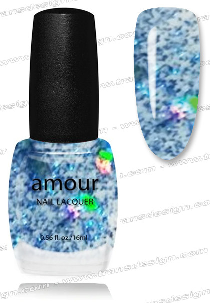 AMOUR Nail Lacquer - Blue Night 0.56oz