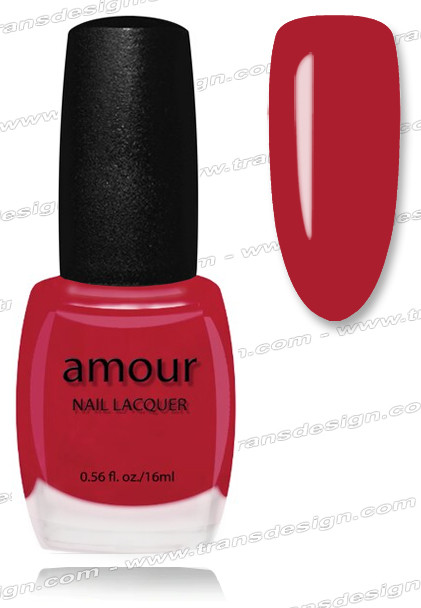 AMOUR Nail Lacquer - Canal Street Red 0.56oz