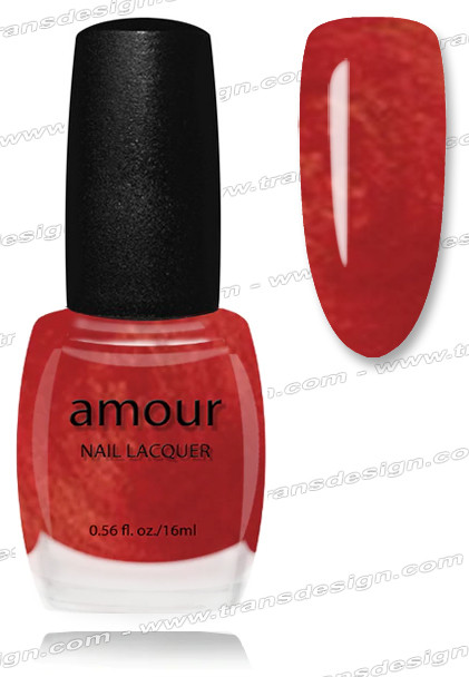 AMOUR Nail Lacquer - Cherry Cola 0.56oz