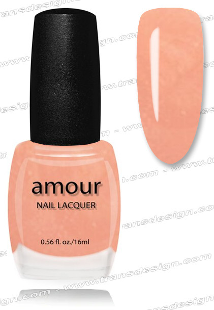 AMOUR Nail Lacquer - Coral Pastel 0.56oz