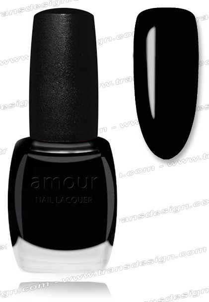 AMOUR Nail Lacquer - Black Magic 0.56oz