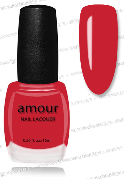 AMOUR Nail Lacquer - Berry Ice Pink 0.56oz