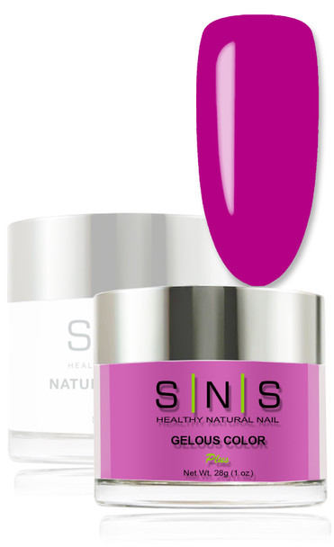 SNS Gelous Dip Powder - Purple Monster LG08