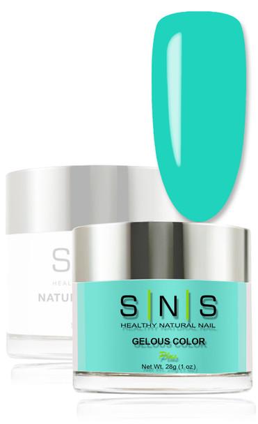 SNS Gelous Dip Powder - Neon Tetra LG12