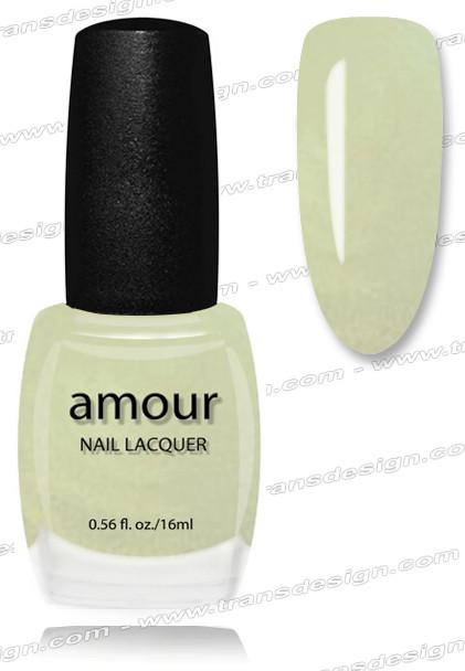 AMOUR Nail Lacquer - Brilliant Ocean Blue 0.56oz