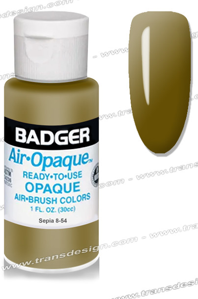 BADGER Airbrush Color - Sepia 4oz.