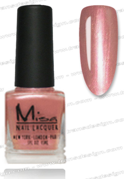 MISA Nail Lacquer - Pink Sizzle 0.5oz *
