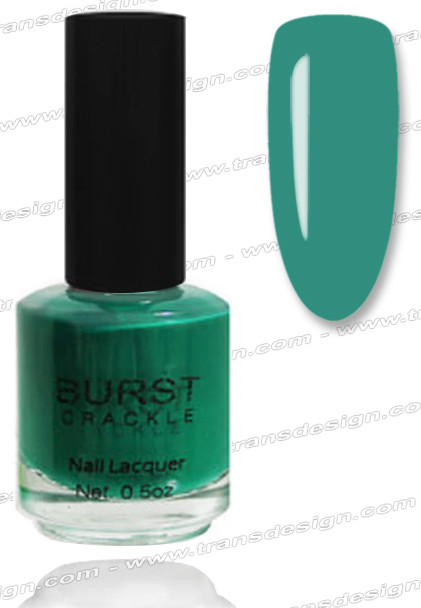 BURST CRACKLE Nail Lacquer - Rolling Hills #4