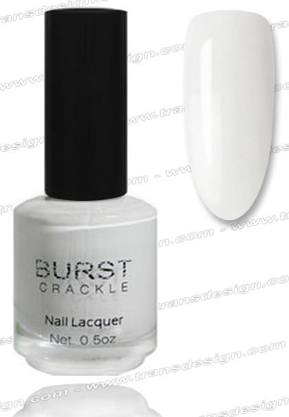 BURST CRACKLE Nail Lacquer - Blizzard #8