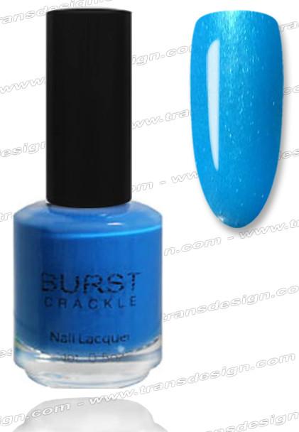 BURST CRACKLE Nail Lacquer - Ocean Breeze #10