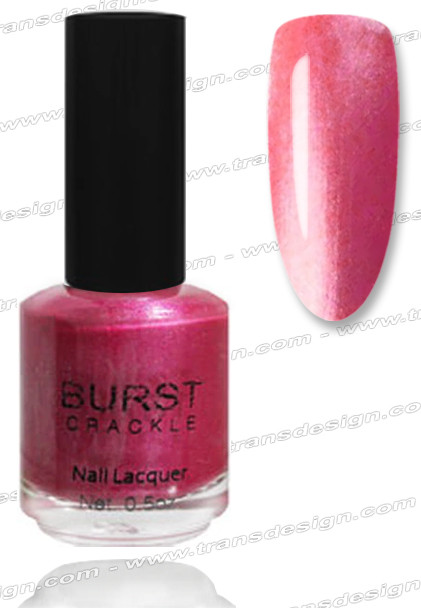 BURST CRACKLE Nail Lacquer - Shimmering Heat  #9