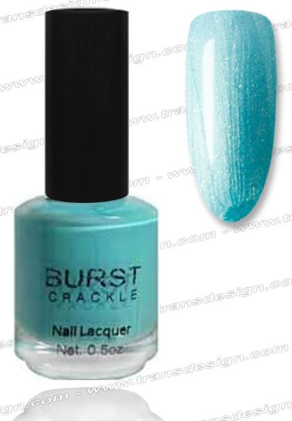 BURST CRACKLE Nail Lacquer - Aqua Marine #1