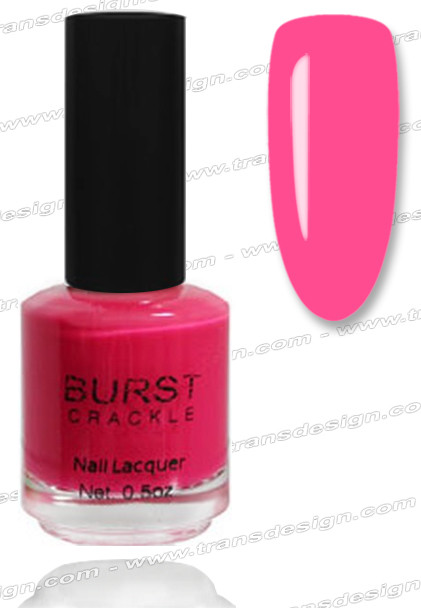 BURST CRACKLE Nail Lacquer - Pretty-N-Pink #7