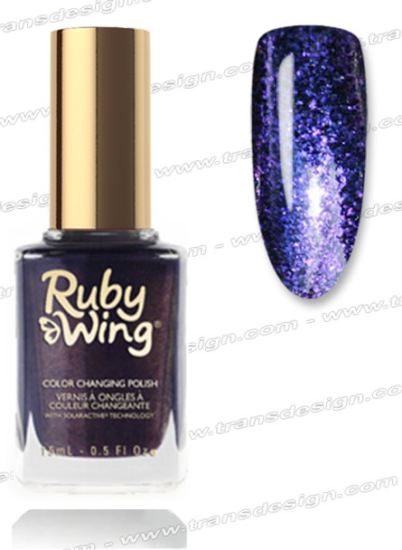 RUBY WING Nail Lacquer - Dark Wash 0.5oz