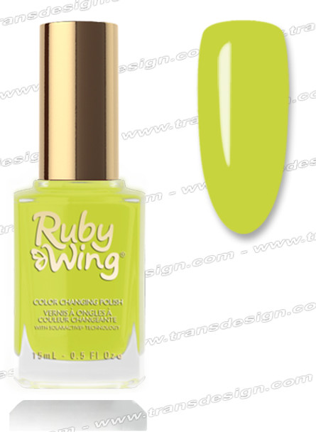 RUBY WING Nail Lacquer - Electriic Firefly 0.5oz