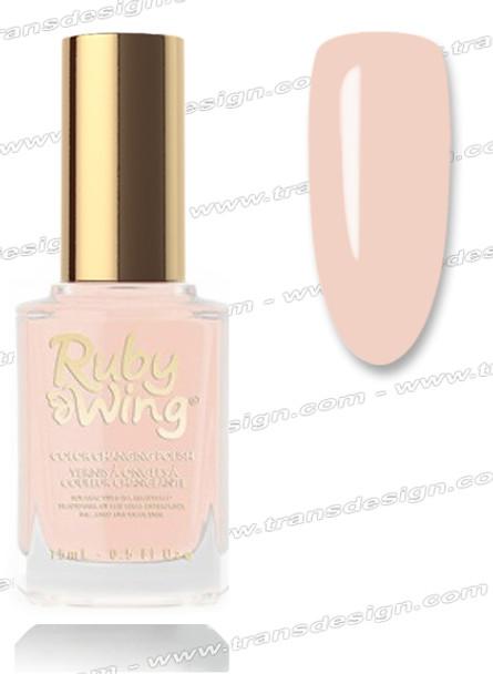 RUBY WING Nail Lacquer - Summer Gardenia  0.5oz *