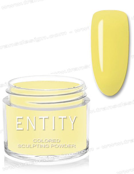 ENTITY Colored Acrylic Powder - Haystack Yellow Powder 1.75oz
