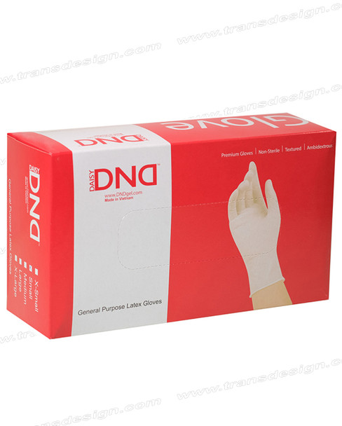 DND - Latex Powder-Free Gloves 10 Boxes/Case