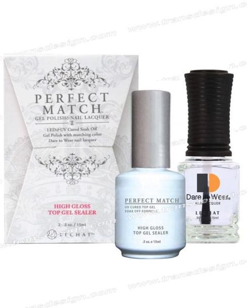 LECHAT PERFECT MATCH - High Gloss Gel Sealer 2/Pack