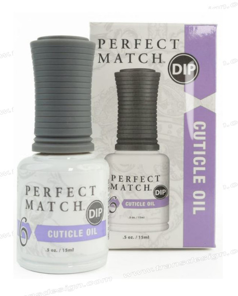 LECHAT PERFECT MATCH DIP Dip Cuticle Oil 0.5oz.