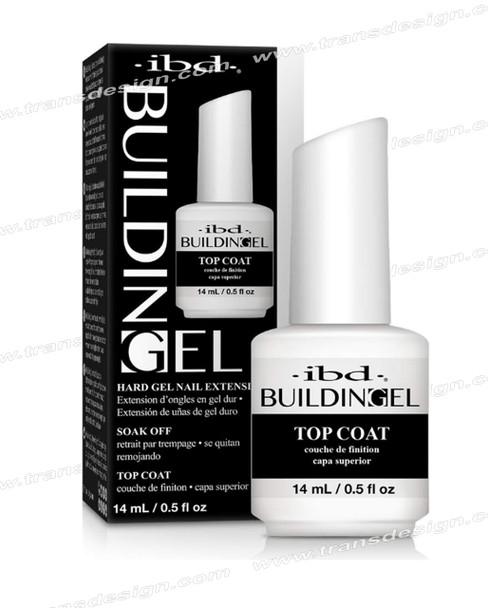IBD Building Gel Top Coat 0.5oz