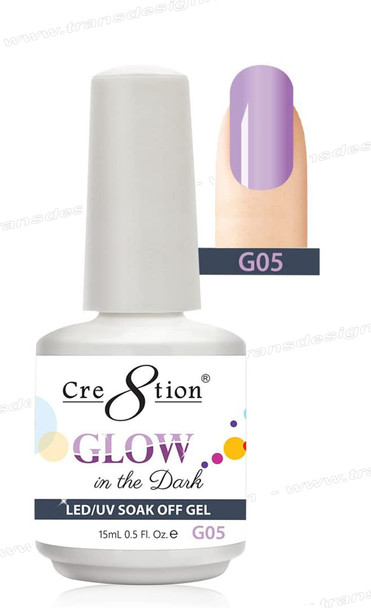 CRE8TION - Glow In The Dark Soak Off Gel .5 oz - G05