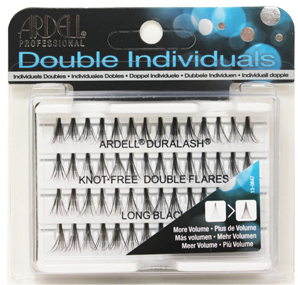 ARDELL - Double Up Individuals Long Knot Free (Black) 72/Box