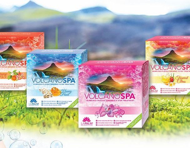 VOLCANO SPA Pedicure 5-in-1 Spa Box