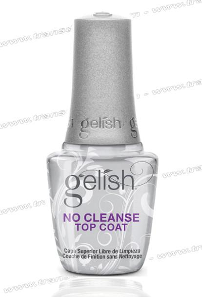 GELISH No Cleanse Top Coat 0.5oz.