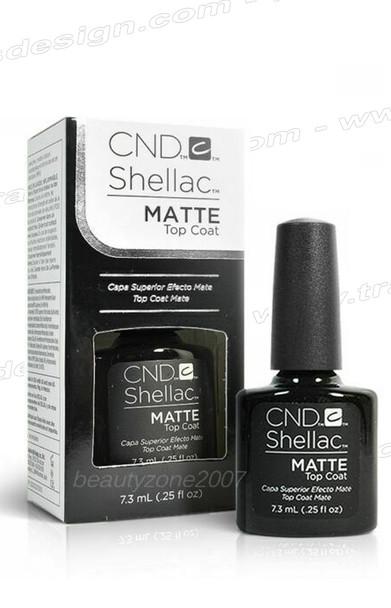 CND SHELLAC Matte Top Coat 0.25oz.