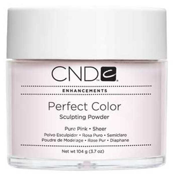 CND-Perfect Color Powder Pure Pink  3.7oz. (104g)