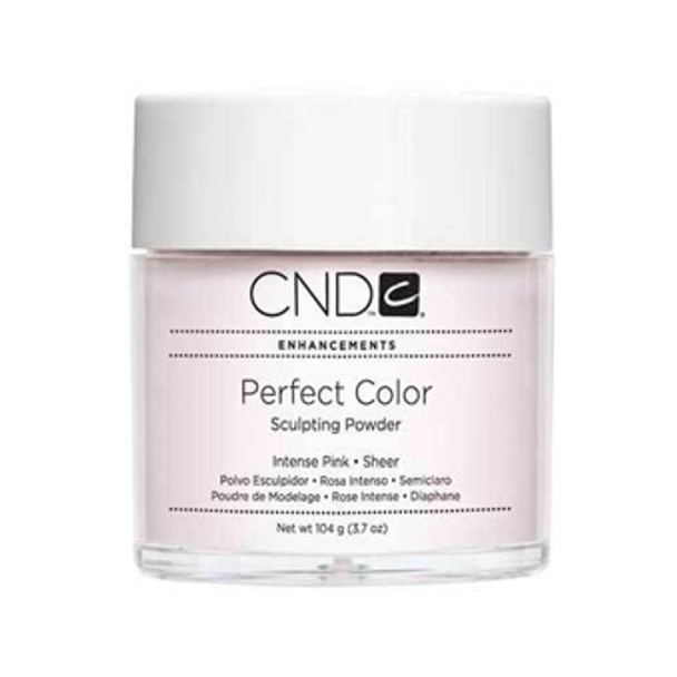 CND-Perfect Color Powder Intense Pink  3.7oz. (104g)