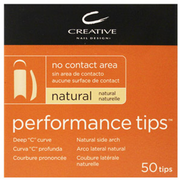 CND - Performance Natural Tips 50/Pack