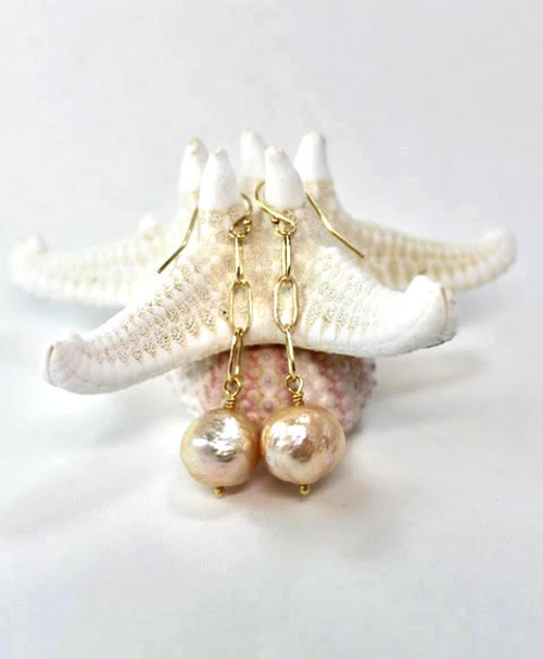 Kasumi  Pearl Earrings